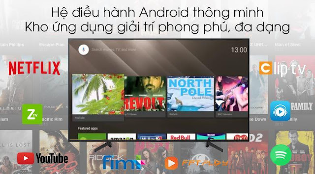 Android Tivi Sony 4K 49 inch KD-49X8500G/BK/S
