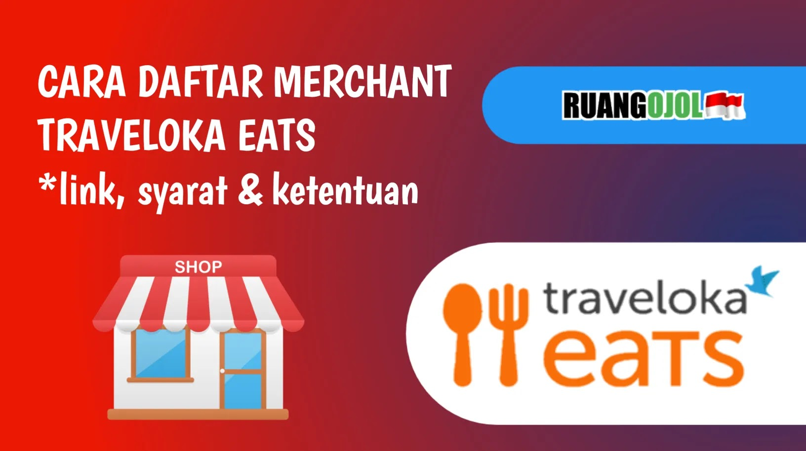 cara daftar traveloka eats merchant