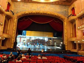 Palco e Plateia do Teatro Municipal do Rio de Janeiro