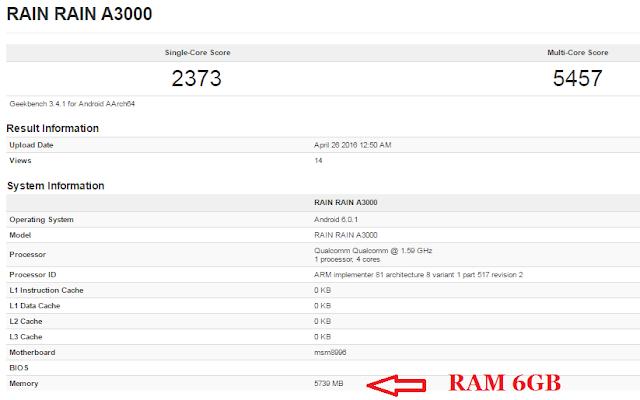 Flagship Killer OnePlus 3 akan dibekali RAM 6GB