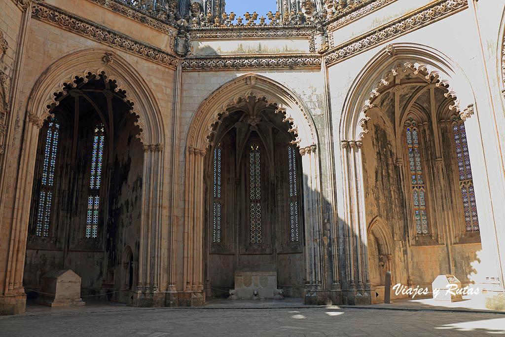 Capillas imperfectas del Monasterio de Batalha