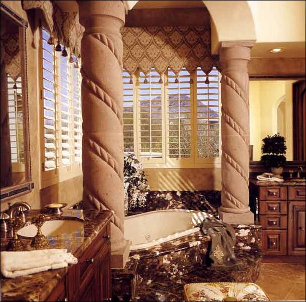Key Interiors By Shinay Transitional Bathroom Design Ideas: Key Interiors By Shinay: Tuscan Bathroom Design Ideas