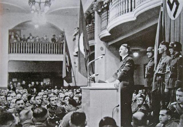 8 November 1939 worldwartwo.filminspector.com Hitler Bürgerbräukeller Munich