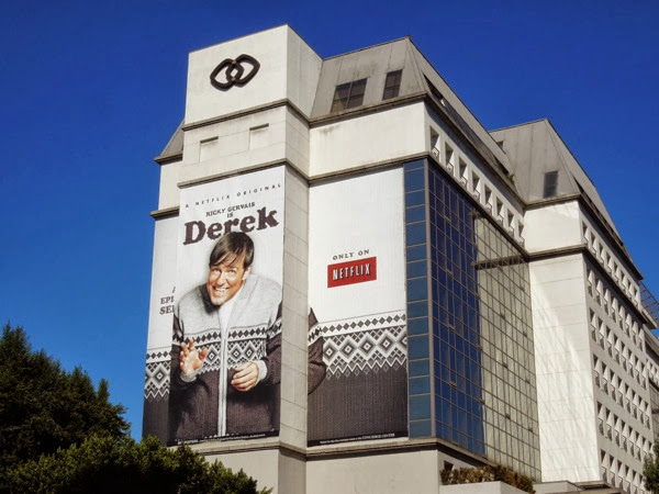 Giant Derek series premiere billboard