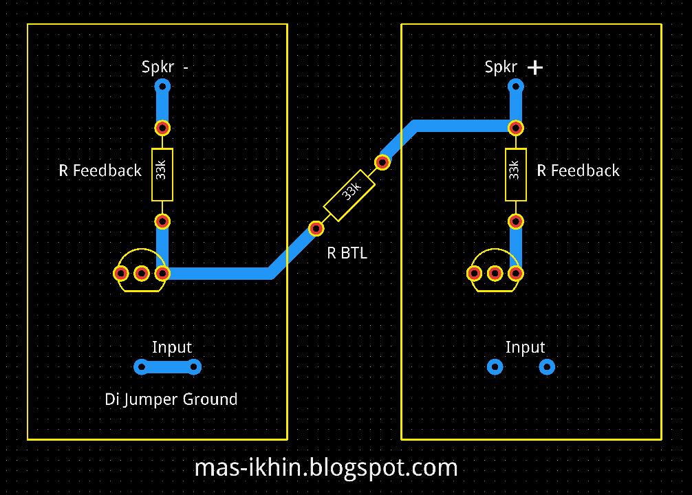 Cara Mem Btl Power Amplifier Menggunakan Resistor Mas Ikhin Web Blogs