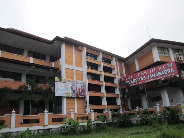 pendaftaran baru Universitas Janabadra aplikasi kampus android