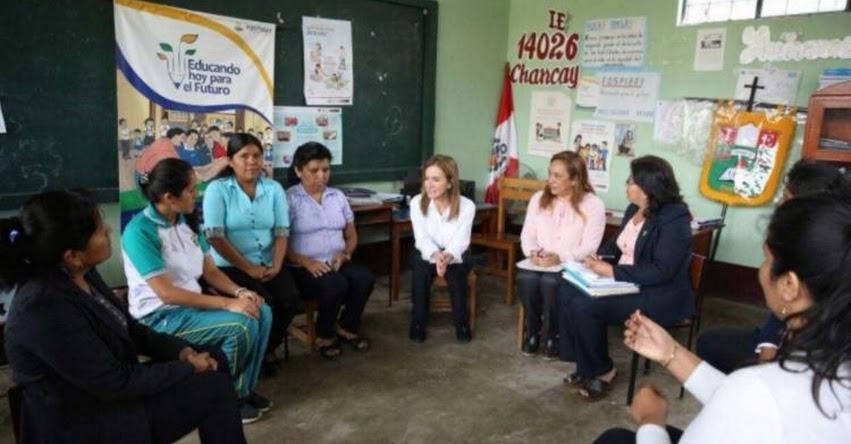 Ministra de Educación Mailú Martens pide a docentes compromiso con plan de recuperación de clases - MINEDU - www.minedu.gob.pe