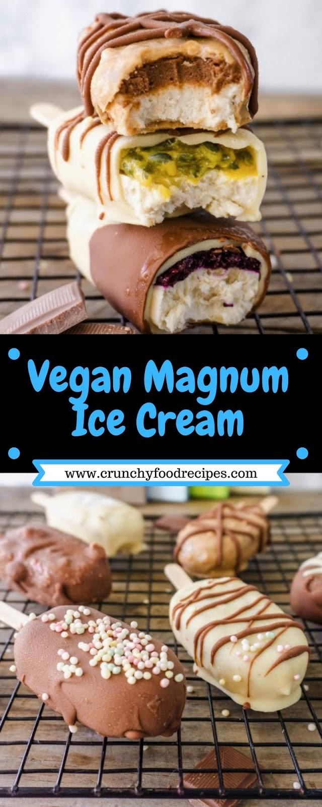 Vegan Magnum Ice Cream