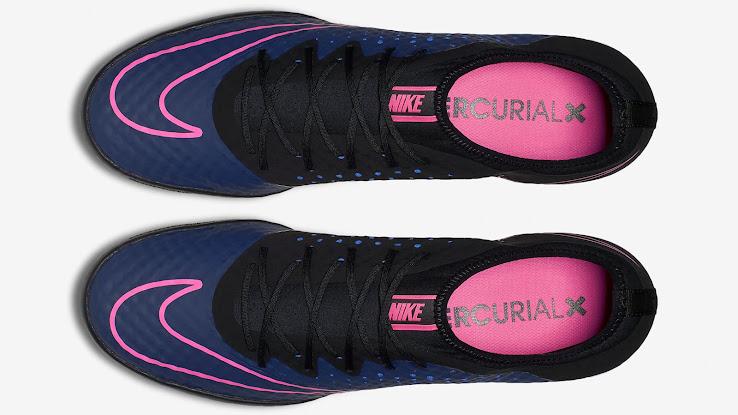 7afc9026fa743 Navy   Pink Nike MercurialX Finale