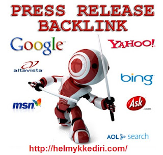 Pengertian backlink situs press release