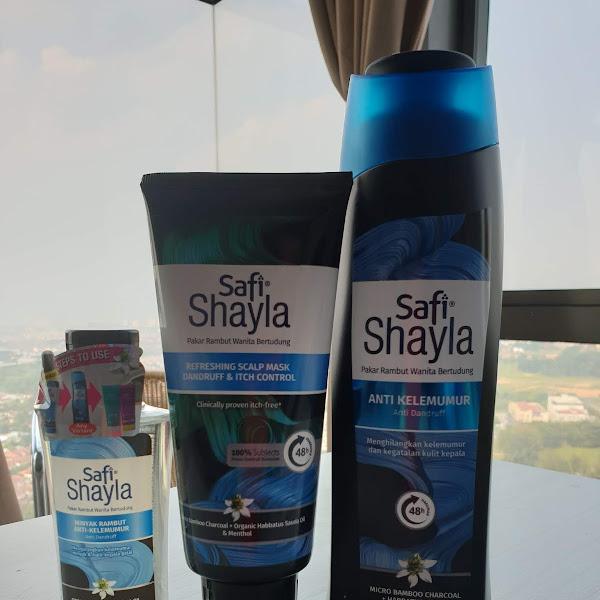 Penyelesaian masaalah rambut gugur dengan safi shayla