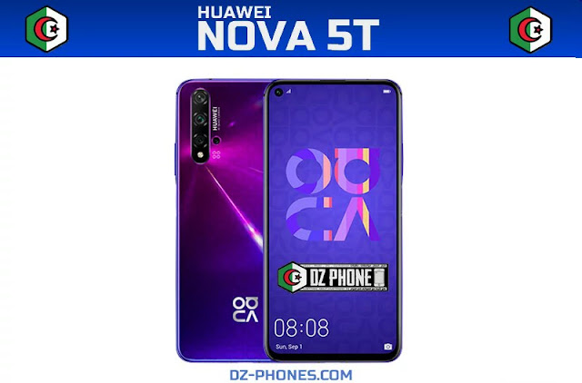 سعر هواوي نوفا 5T في الجزائر Huawei Nova 5T Prix Algerie