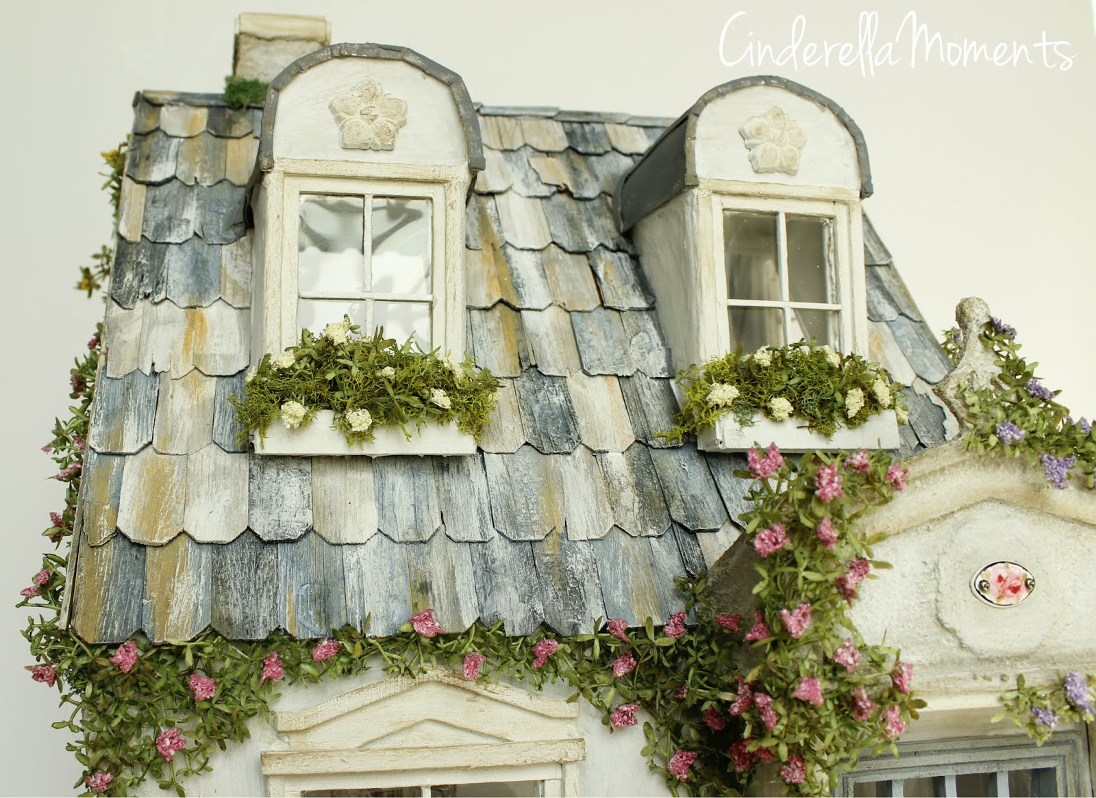 Shabby Look Cinderella Moments Tips For A Shabby Chic Dollhouse Look