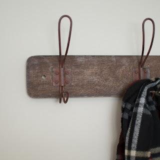 Rustic Wooden Wall Hooks