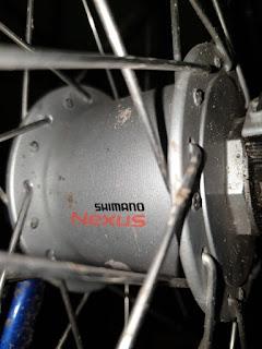 Einfacher Shimano Nabendynamo