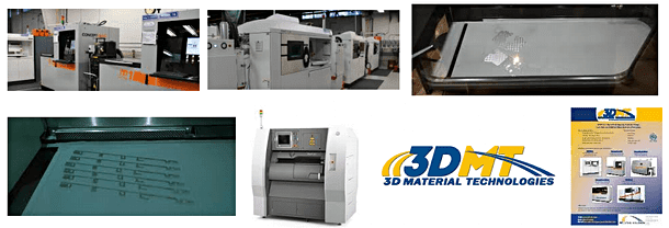 3D Metal Printing Service - 3DMT 3D Materials Technology