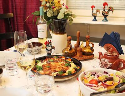Portugalilaista hapokasta valkoviiniä, Quinta de Chocapalha Arinto 2016 ja leivitettyä turskaa, Viinihetki