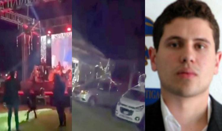 """Al interior de la fiesta navideña de Archivaldo Guzmán el hijo de """"El Chapo"""" Guzmán: música, impunidad y costosos autos de regalo"""