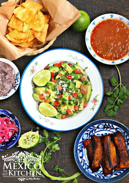 Mexico In My Kitchen Chunky Guacamole Recipe Authentic