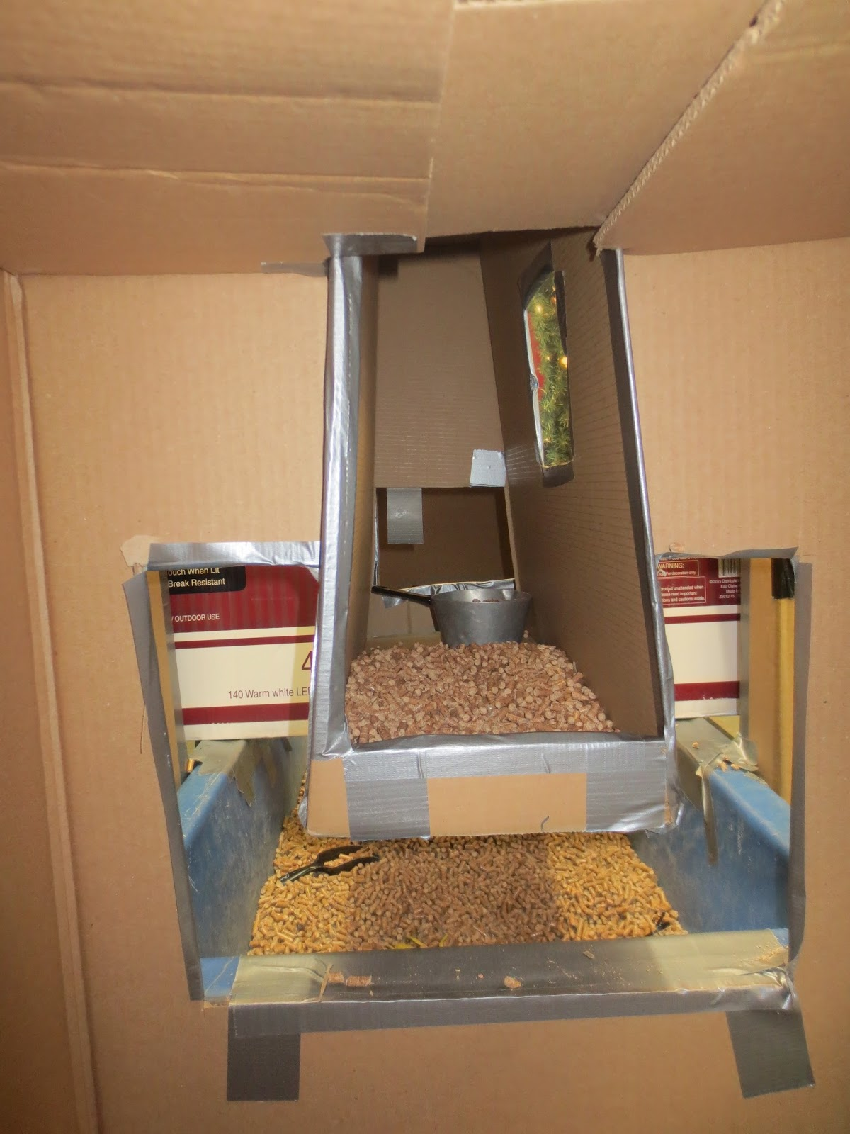 SAND AND WATER TABLES Big boxes around the table additions