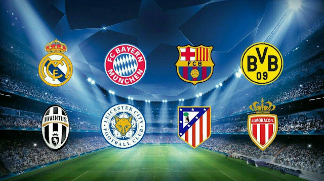 Confrontos das quartas de final da Champions League são sorteados