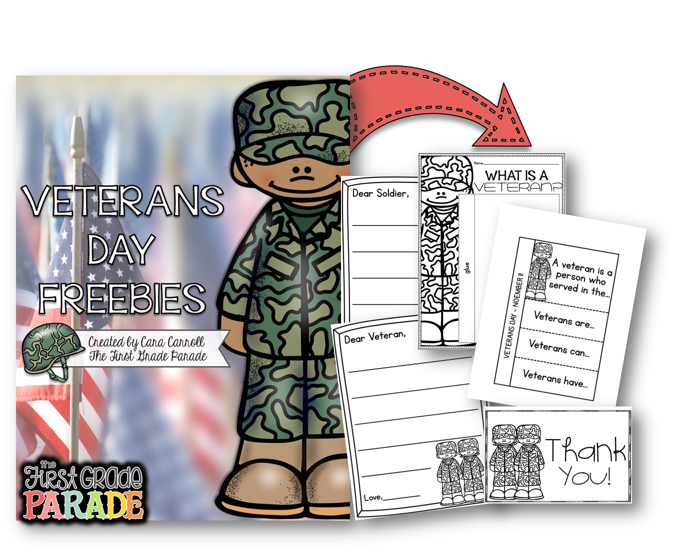 Free Veterans Day Math Worksheets