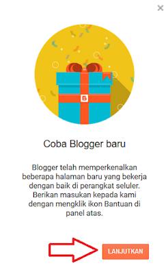Tampilan Baru Pada Dasbor Blogger 2020