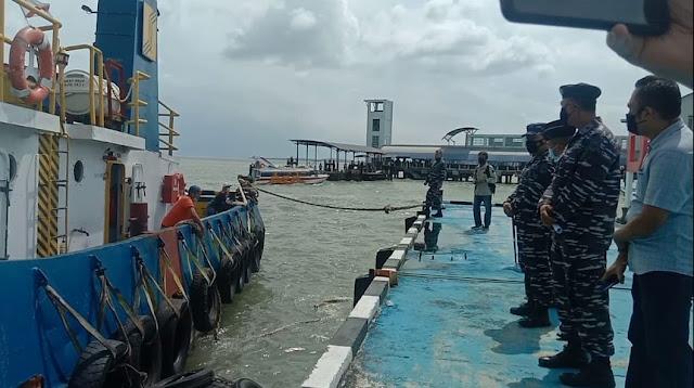 Kapal TB Meisun T31 dan  Dua Orang ABK Warga Negara Malaysia Dipulangkan ke Malaysia