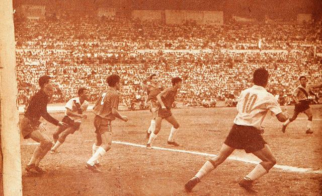 Ecuador y Chile en Clasificatorias a Inglaterra 1966, 15 de agosto de 1965