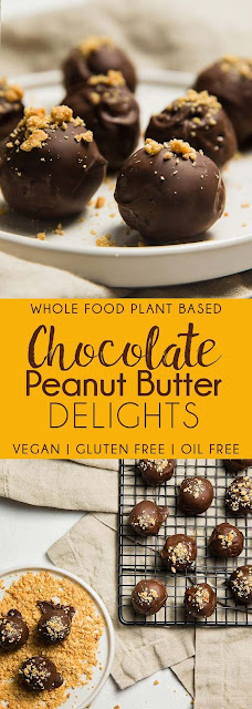 Chocolate Peanut Butter Delights
