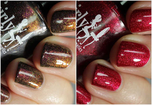 Girly Bits November 2019 CoTM swatches by Streets Ahead Style