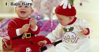 Baju Baru merupakan salah satu hadiah natal terbaik untuk anak-anak