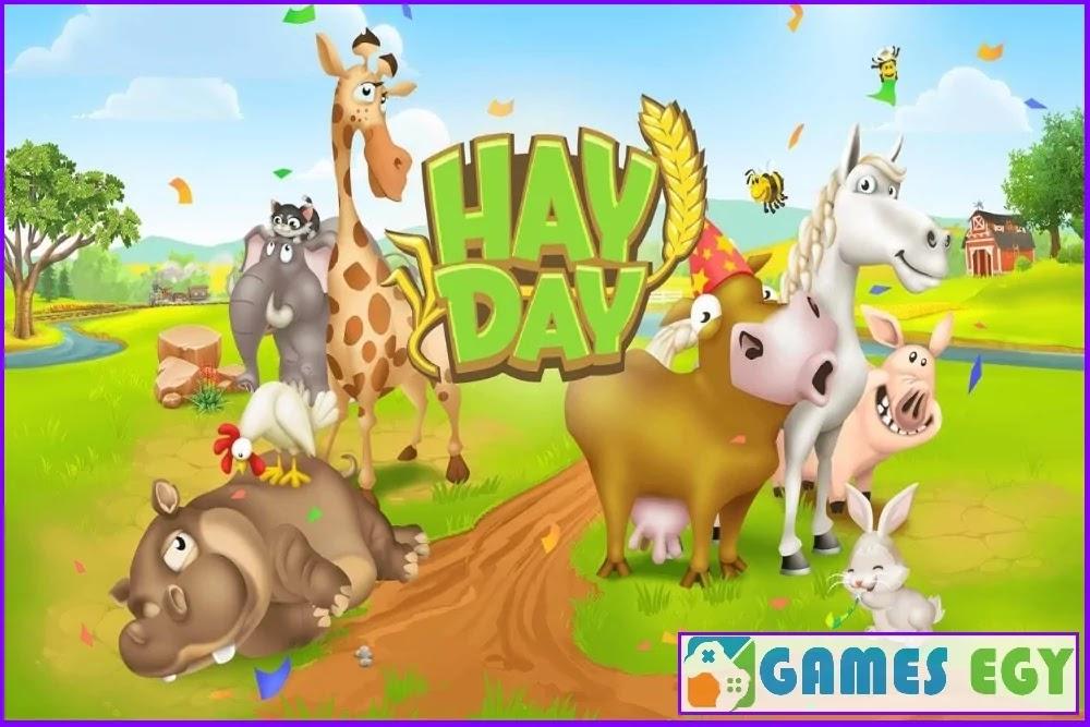 تحميل لعبة المزرعة السعيدة Hay Day