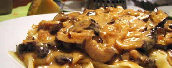 A disfrutar de tu pasta con hongos shiitake