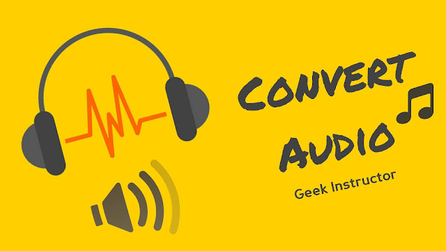 Convert audio files