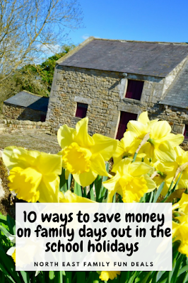 10 Ways to Save Money on Family Days Out during the School Holidays in North East England #NorthEastEngland #MoneySaving #SchoolHolidays