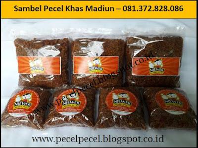 Pusat Sambel Pecel Khas Madiun  - 081.372.828.086
