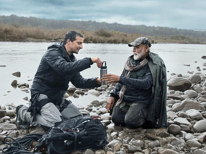 Discovery Channel / Modi will be seen with Bear Grylls in Man vs Wild.