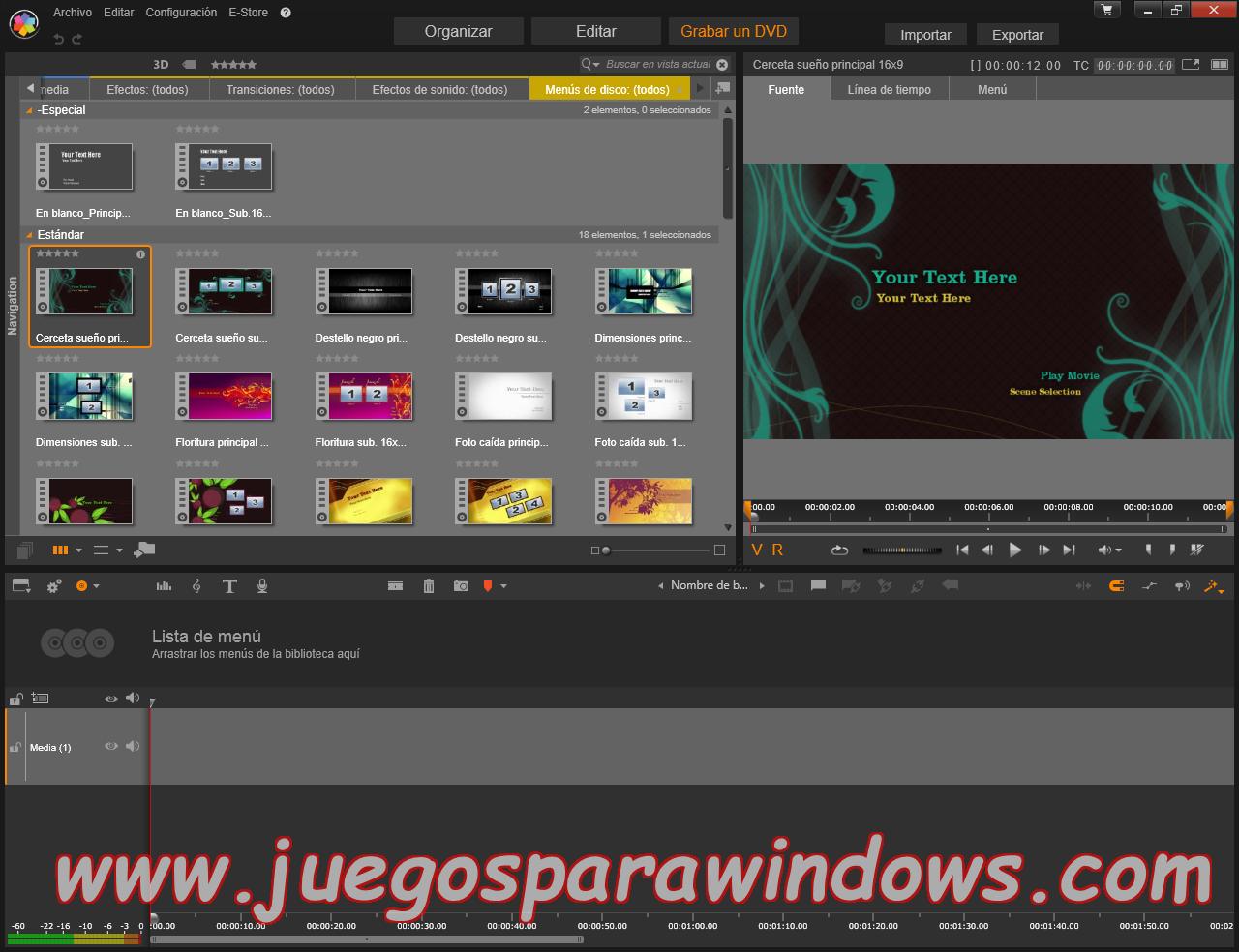 Pinnacle Studio Ultimate v18.0.1 Multilenguaje ESPAÑOL (CORE) 11