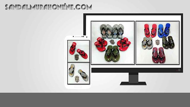Grosir Sandal Online Anak Tanggung Termurah | Sandal Social TG GSJ