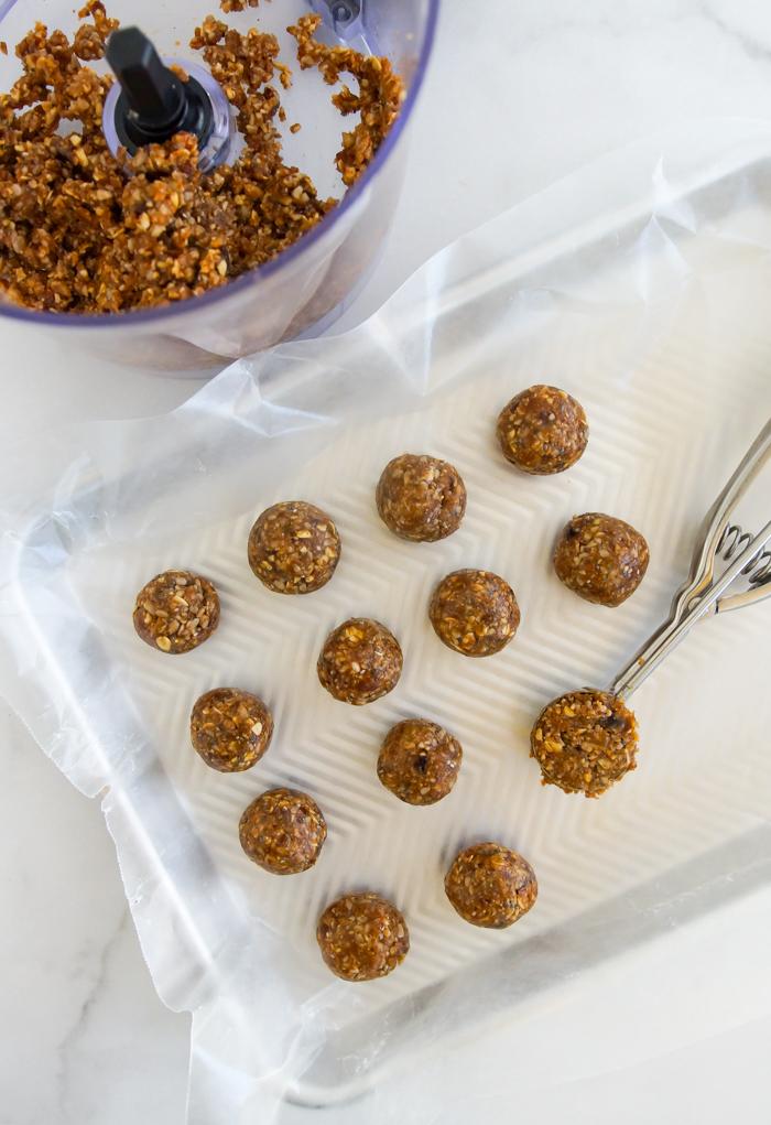 pecan pie energy protein balls