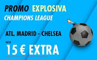 suertia promo Atletico vs Chelsea 23-2-2021