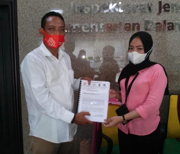 Presidium NGO Banten Resmi Melaporkan Sekda Banten ke Kemendagri dan Mensesneg RI