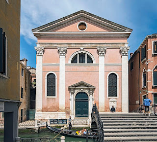 The church of San Luca in Venice, which can be found between Piazza San Marco and the Rialto bridge