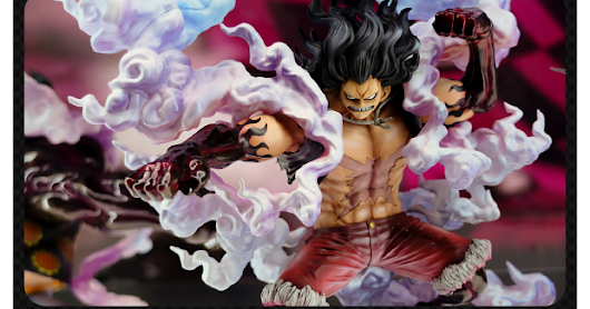 [EXPO-02] Monkey D. Luffy GEAR 4 SNAKEMAN - P.O.P SA-MAXIMUM