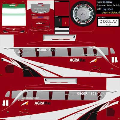 livery shd agra mas