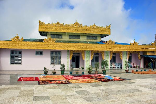 Hotel at Golden rock - Myanmar