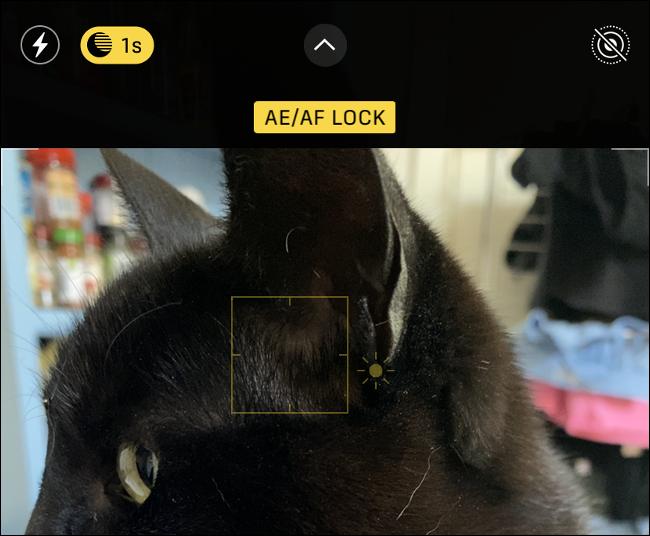 iPhone Camera AE / AF Lock