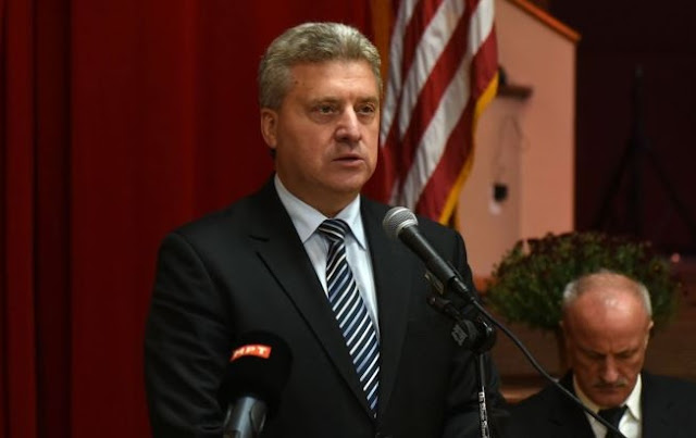 """Gjorge Ivanov: To Macedonia has been asked to commit """"historical suicide"""""""
