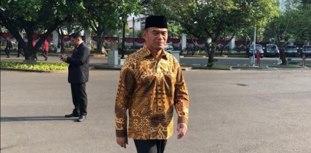 Tak Muncul Sejak Senin, Muhadjir Effendy Justru Muncul Saat Pelantikan Menteri